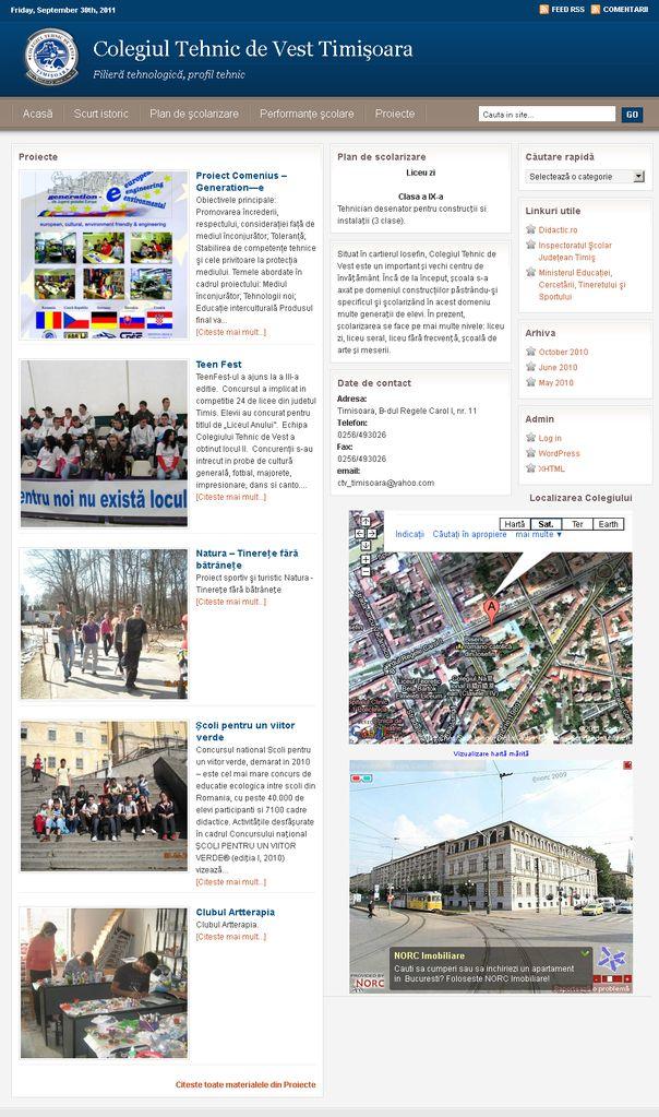 Colegiul Tehnic de Vest din Timisoara
