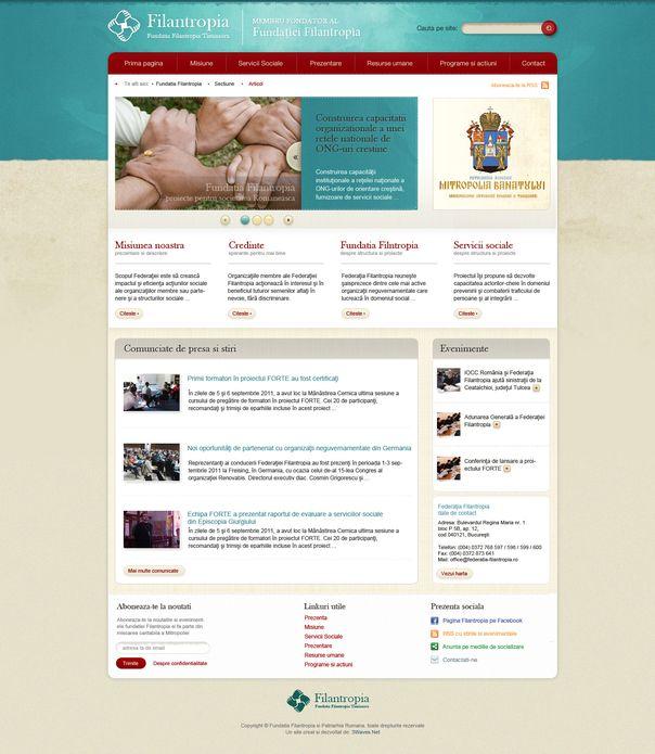 Ofertă de site gratuit pentru ONG-uri
