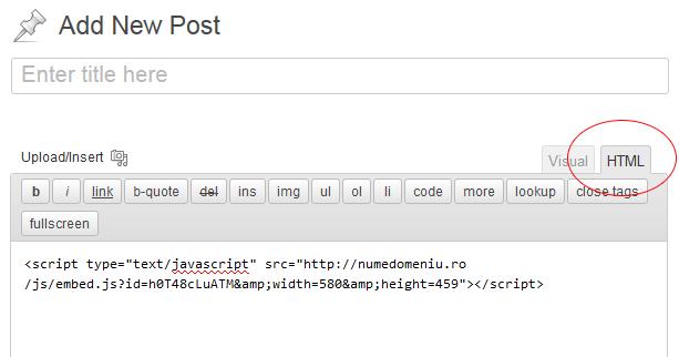 Cum poți adăuga cod JavaScript în posturile sau paginile WordPress? | tutorial