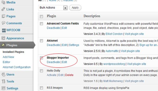 blogger-importer-deactivate