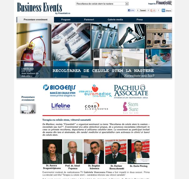 business events by finantistii.ro