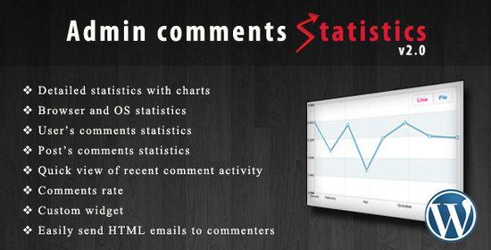 plugin wp admin comments statistics