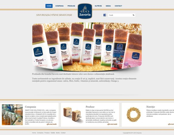 savoria-site-prezentare-wordpress